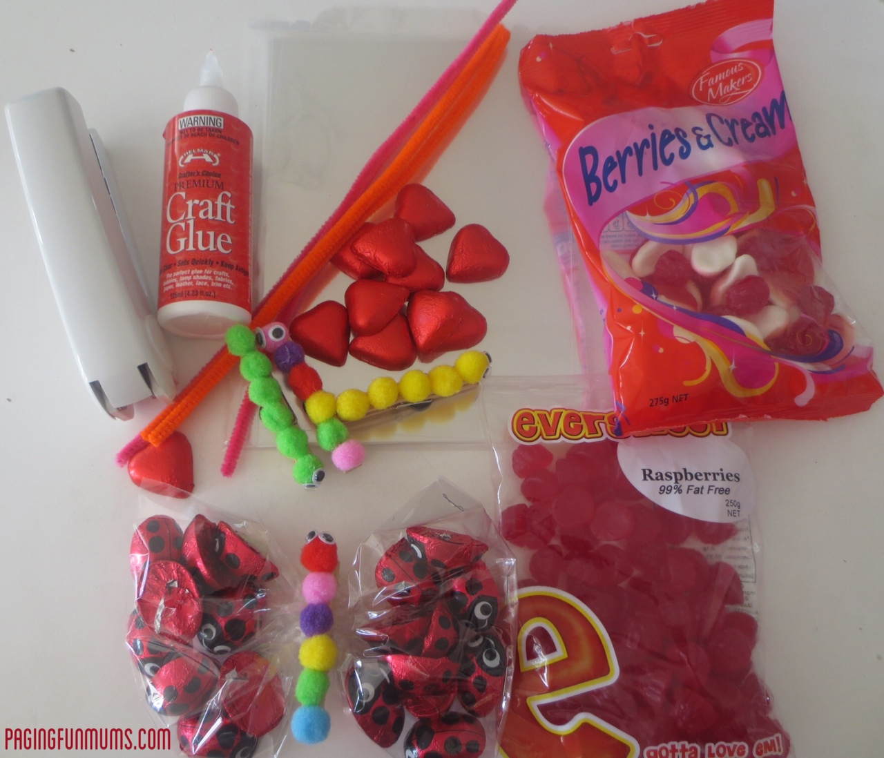 how to make lolly bags