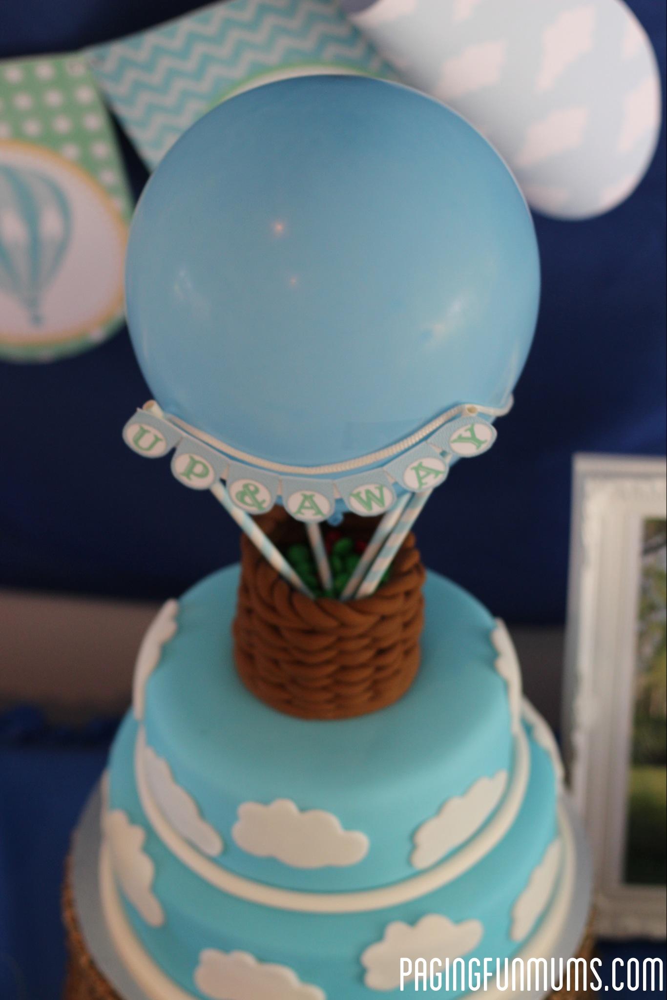 Hot Air Balloon Cake - (Louise) - Paging Fun Mums